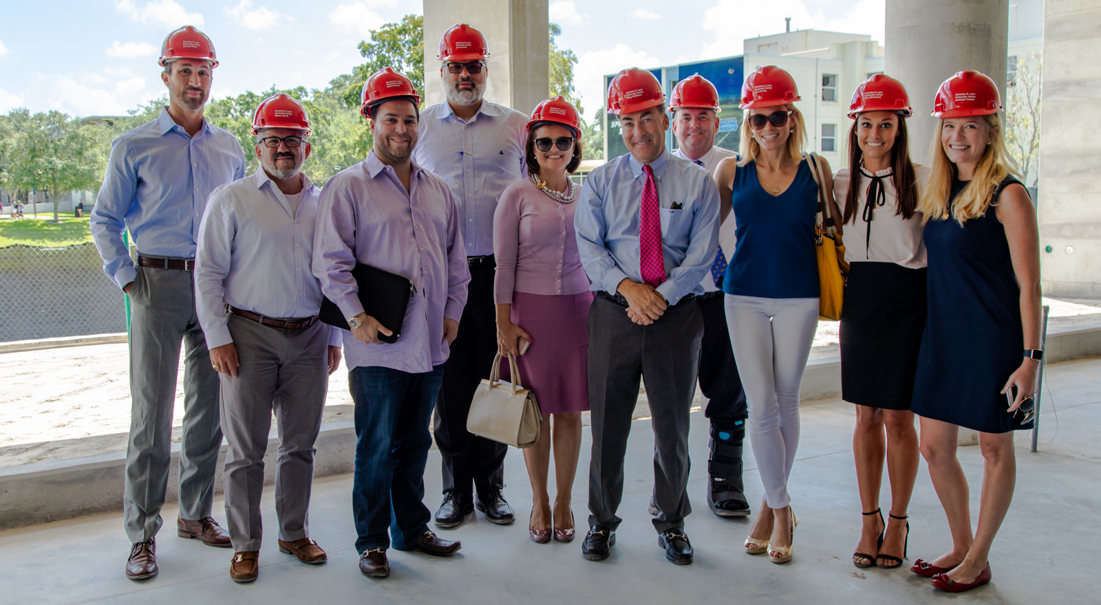 Lynn University President's Alumni Advisory Council with SVP of Development and Alumni Affairs, Gregory J. Malfitano