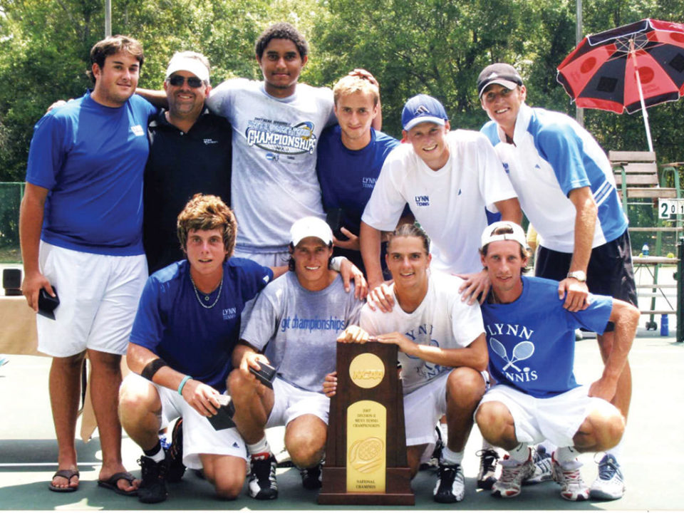 2007 Lynn University Mens Tennis Team