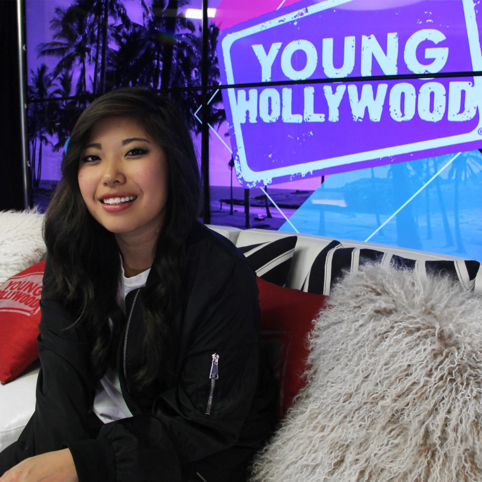 Rudisill poses for a photo before studio time at Young Hollywood.