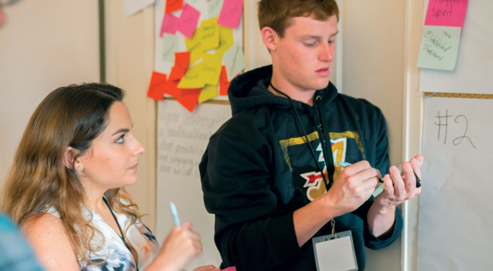 Students participate in Design Thinking