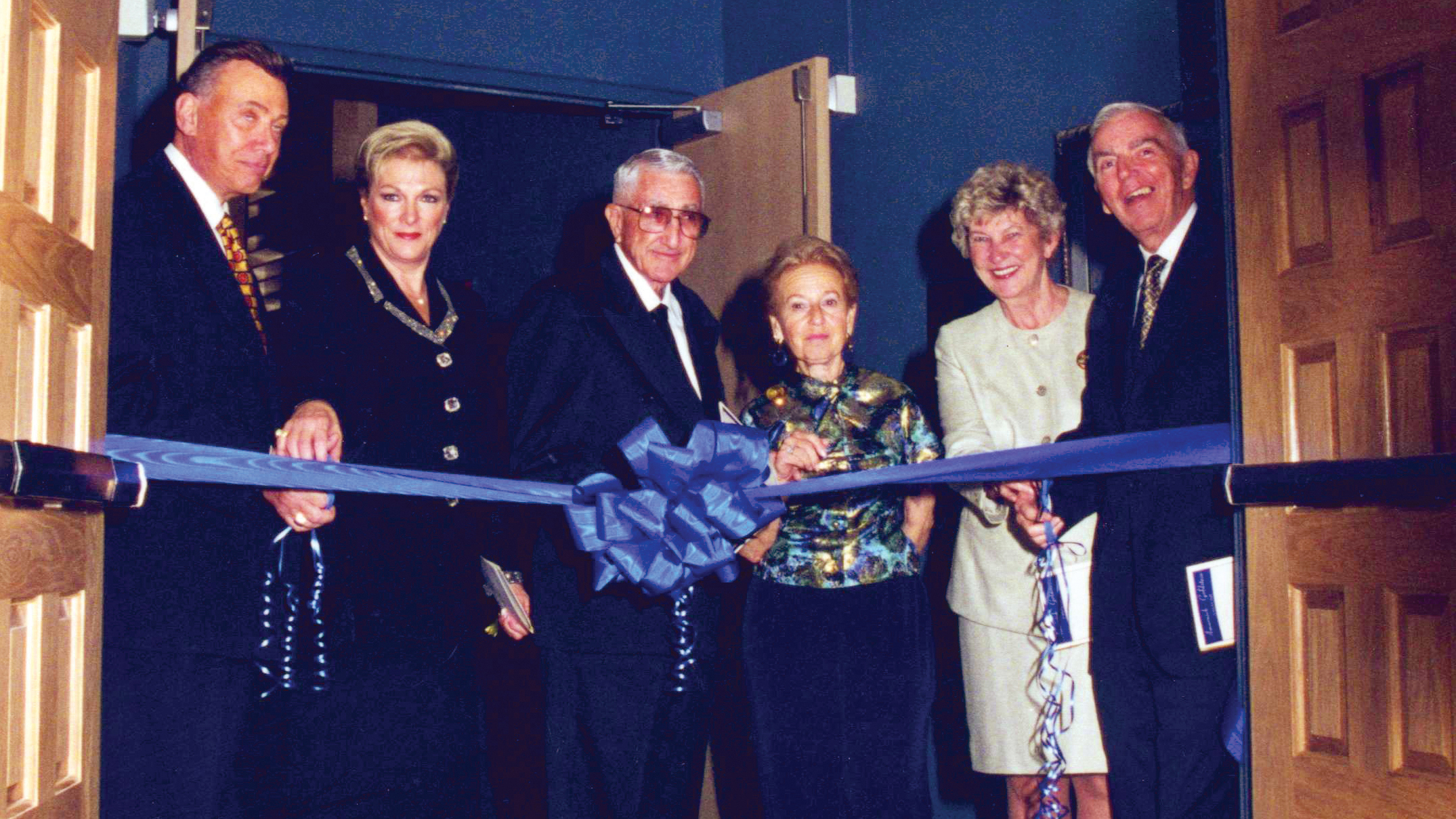 2001 Jan Grand Opening of the Amarnick Goldstein Concert Hall