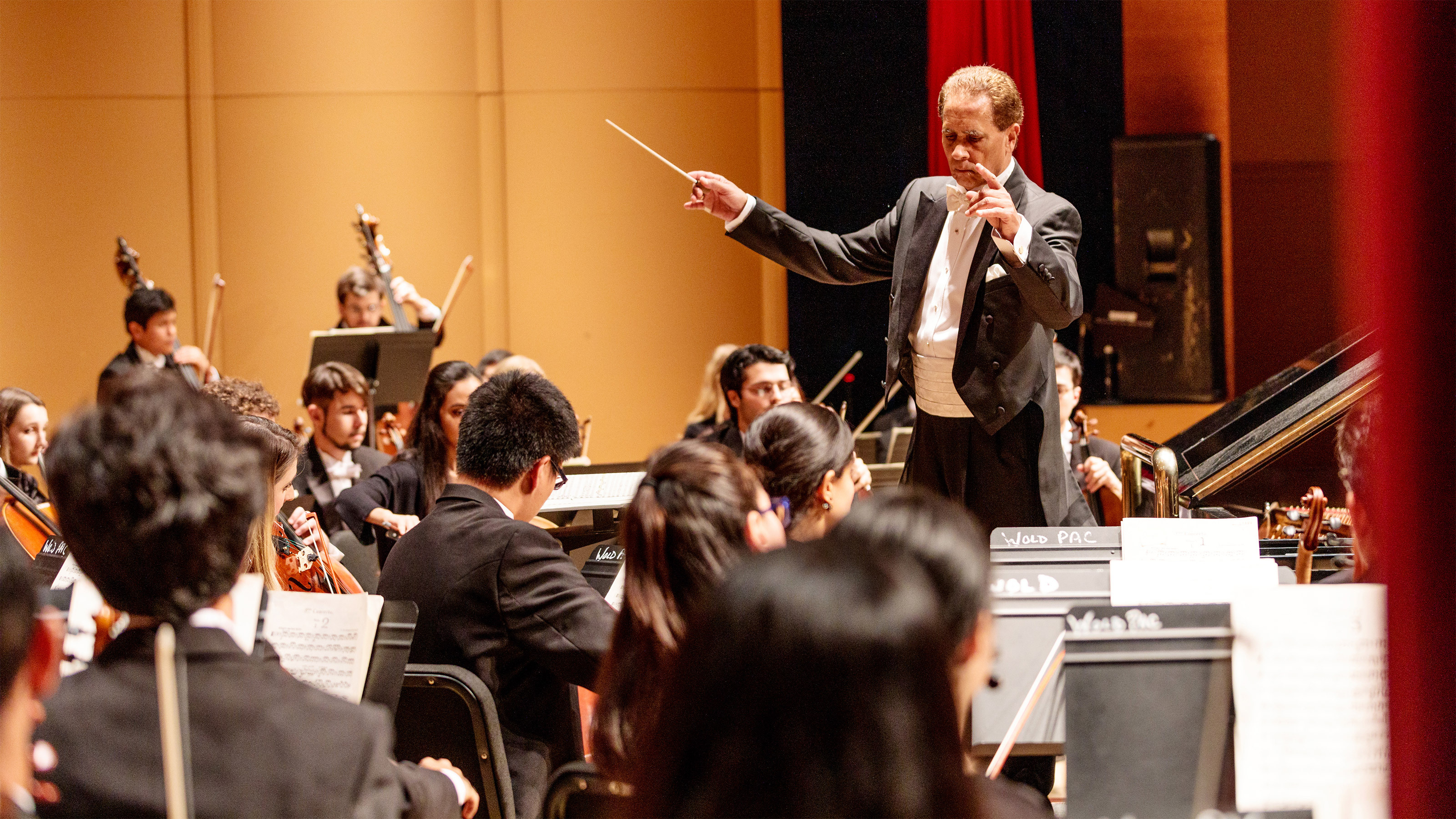 Philharmonia performs in the Wold Performing Arts Center