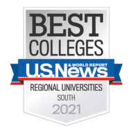 U.S. News & World Report - Best Colleges - Regional Universities, South, 2021