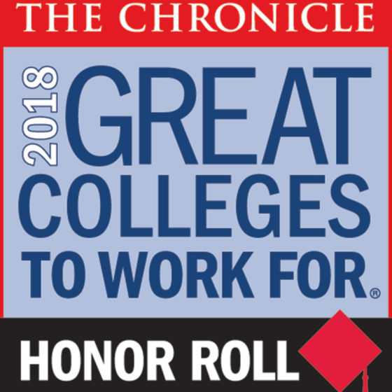 Lynn University gets honor roll for the Chronicle's Great Colleges to Work For.