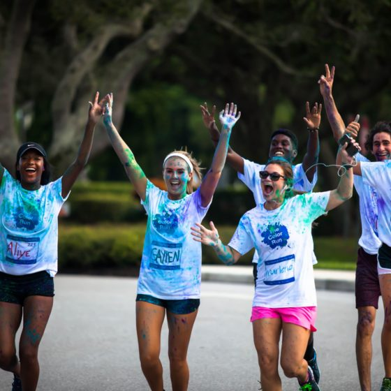 Color Run at Lynn University