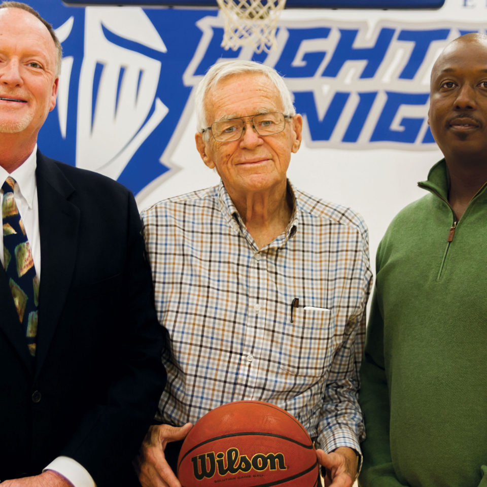 Coach Price, Bill Fash and Kenneth Anders