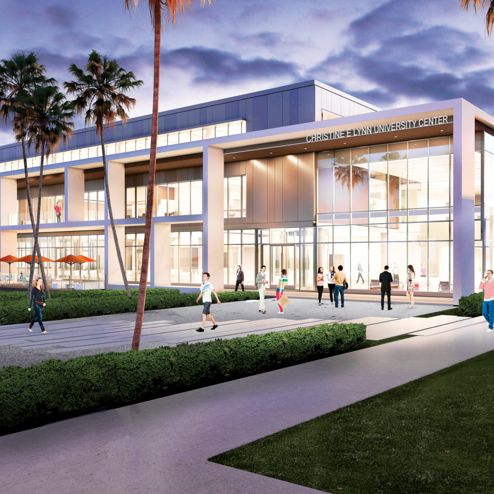 Christine E. Lynn University Center rendering