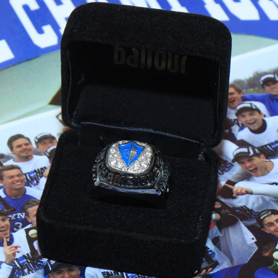 Lynn Fighting Knights National Championship ring.