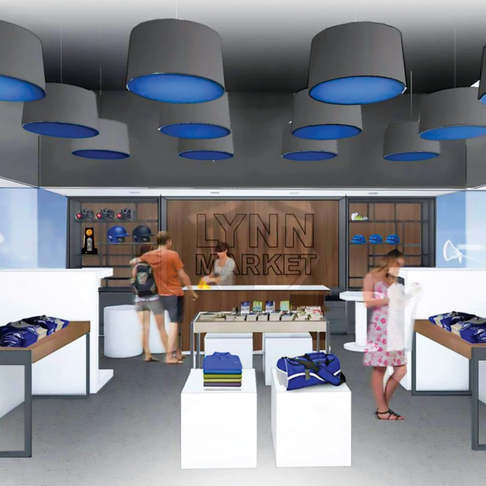 University Center Schmidt Family Campus Store rendering