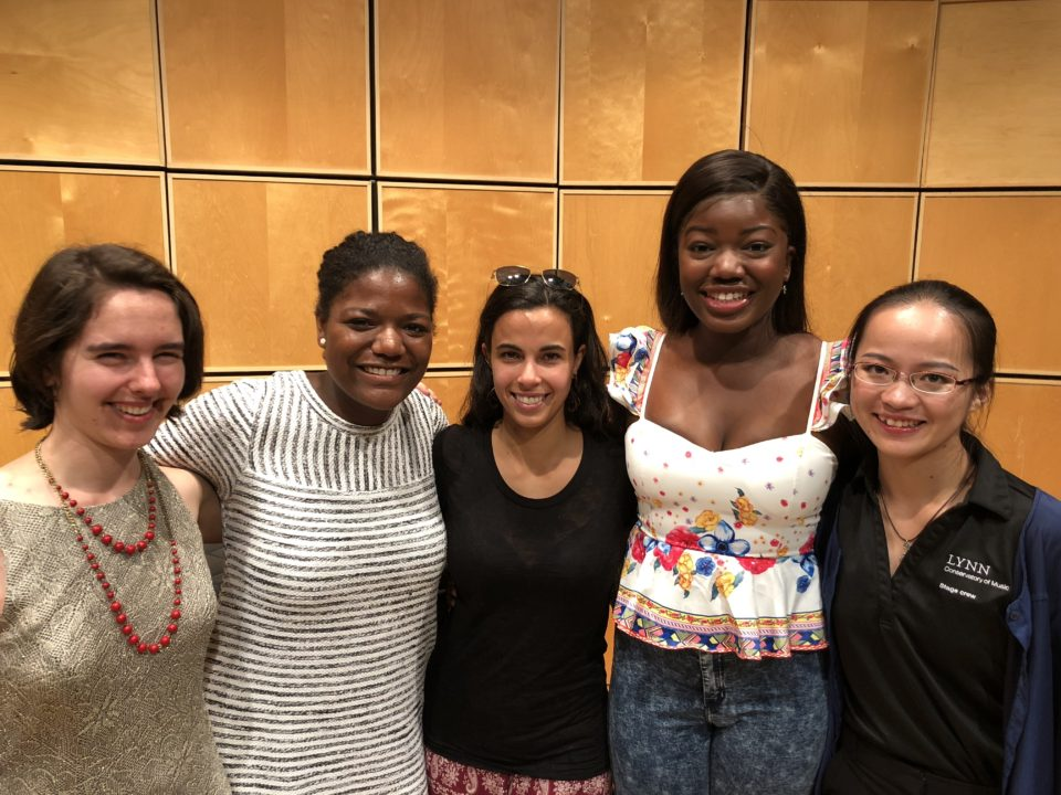 2018 Lynn Concerto Competition winners
