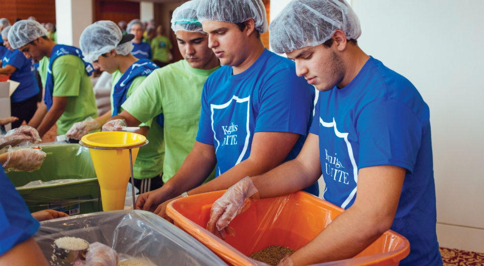 Day Of Caring: Feeding Children Everywhere