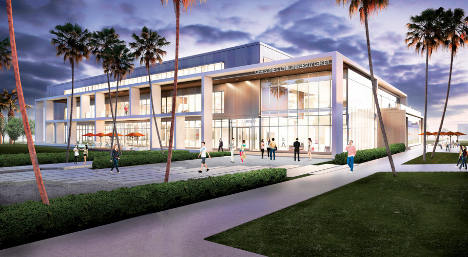 New Student center rendering