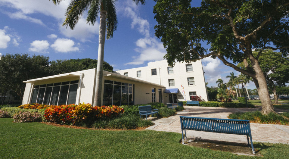 Trinity Residence Hall on the Lynn University campus.