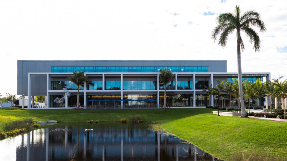 Christine E. Lynn University Center sits in the heart of campus