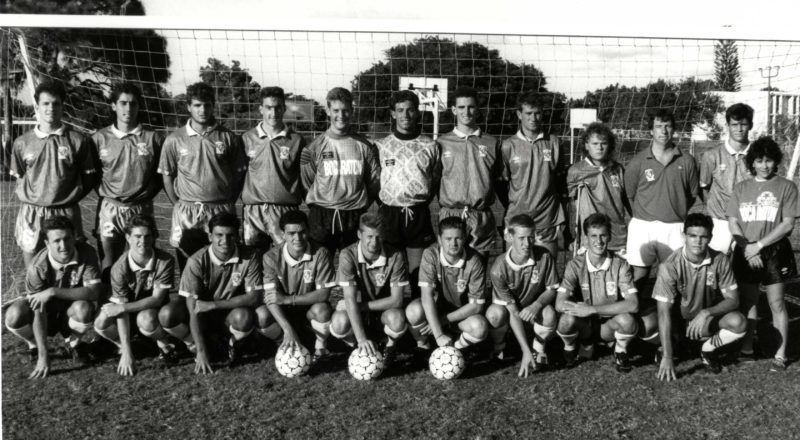 1987 men's soccer team