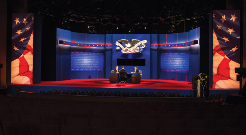 2012 Presidential debate held on Lynn University campus.