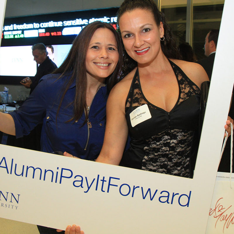 Alumni dedicated time and funds toward the pay it forward scholarship.
