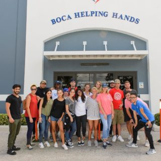 Students at Boca Helping Hands